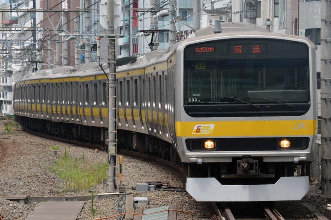 【JR東】E231系ミツB33編成 東京総合車両センター入場