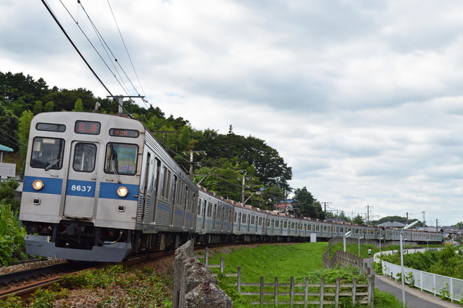 【東急】8500系8637F長津田車両工場入場