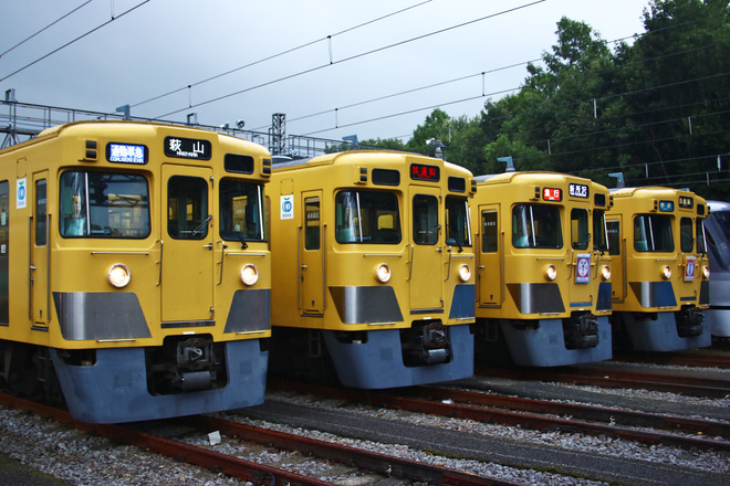 【西武】「南入曽車両基地 電車夏まつり」開催