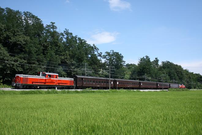 【JR東】DD51PP+旧客 信越本線乗務員訓練