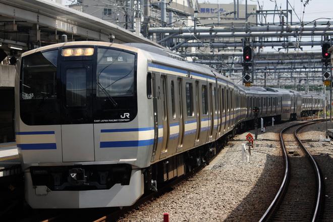 【JR東】E217系クラY13編成 東京総合車両センター出場