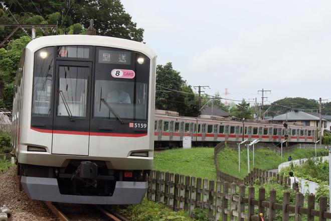 【東急】5050系5159F 長津田車両工場入場