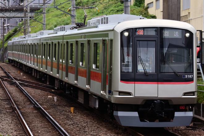 【東急】5080系5187F 長津田車両工場出場