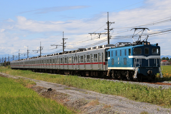 【東武】10030系11637F+11442F  秩父鉄道線内甲種輸送