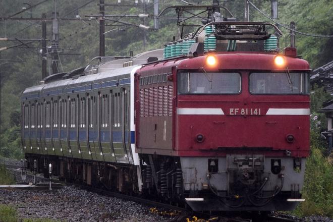 【JR東】415系カツK540編成 秋田車両センターへ配給