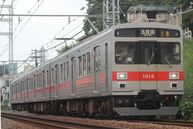 【東急】1000系1013Fにスカート装着
