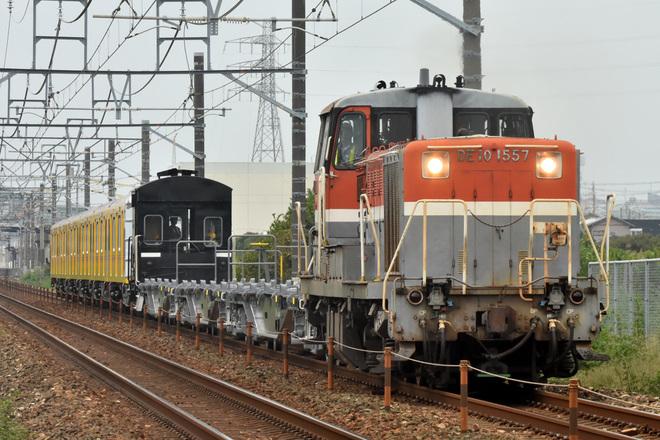 【メトロ】1000系1138F 甲種輸送