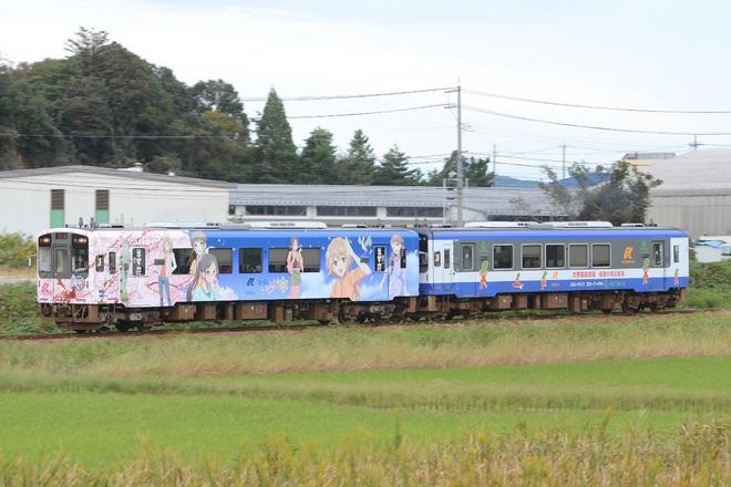 【のと】NT200形NT204 NEW 花咲くいろは(改)ラッピング車運行開始