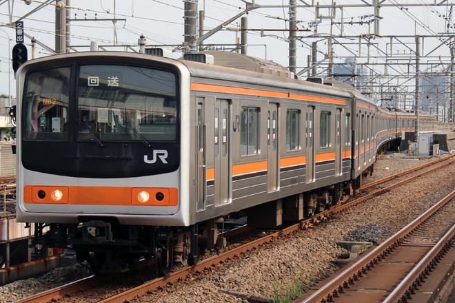 【JR東】205系M62編成 大宮総合車両センター入場
