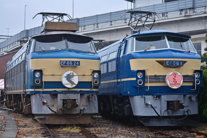 【JR貨】「第23回JR貨物フェスティバル 広島車両所」開催(EF66-1、EF66-24)
