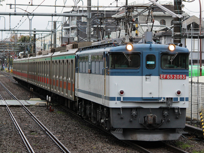 【東急】5000系6ドア車甲種輸送