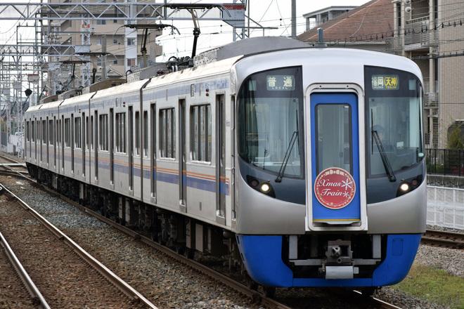 【西鉄】3000形「クリスマス電車」運行