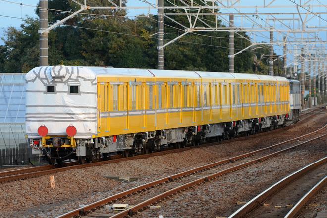 【メトロ】1000系1139F(特別仕様車)甲種輸送