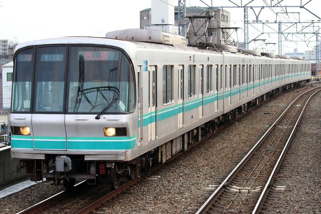 【メトロ】9000系9108F綾瀬工場入場