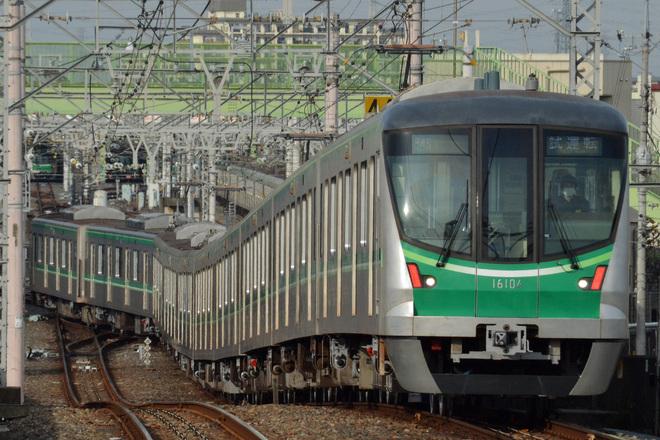 【メトロ】16000系16104F 綾瀬工場出場試運転