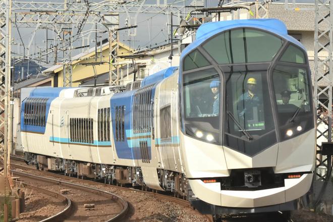 【近鉄】50000系 SV02 出場試運転