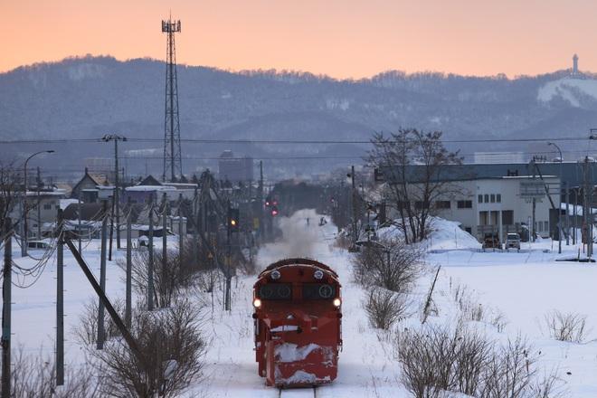 【JR北】石北本線 排雪列車運転
