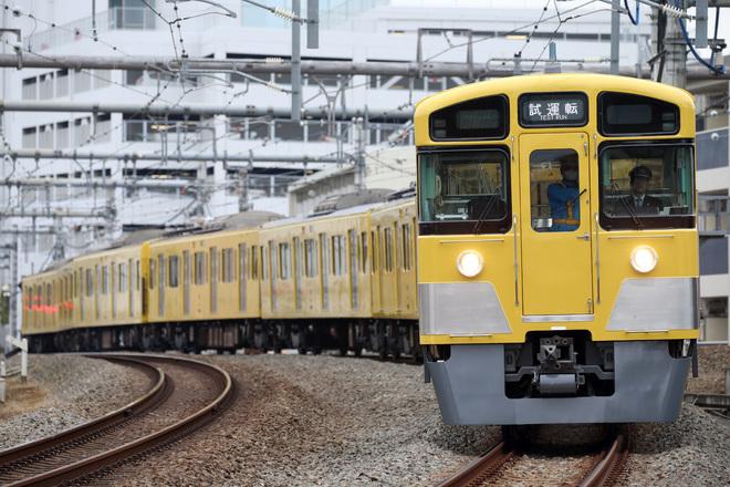 【西武】2000系2073F 出場試運転
