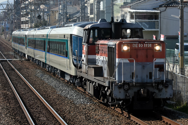 【東武】500系「Revaty」 504F+505F甲種輸送