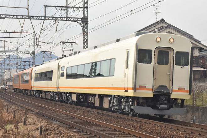 【近鉄】21000系UB02(簡易運転台付)出場試運転
