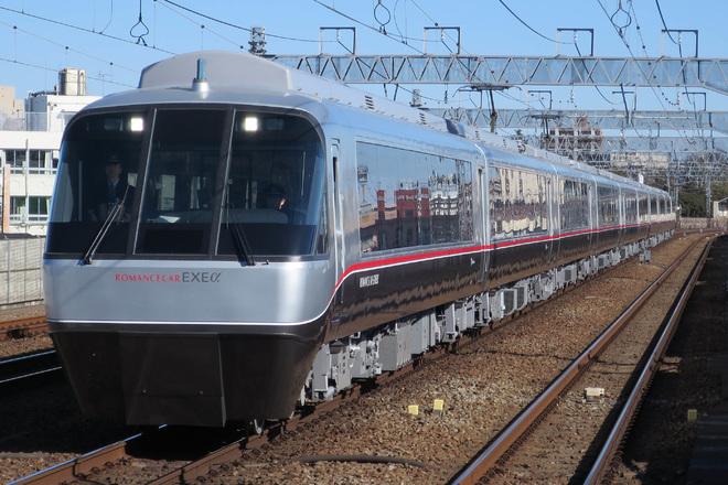 【小田急】30000形リニューアル車「EXE α」試乗会