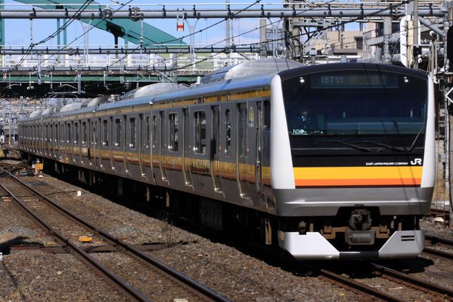 【JR東】E233系ナハN36編成(元トタ青670編成) 大宮総合車両センター出場