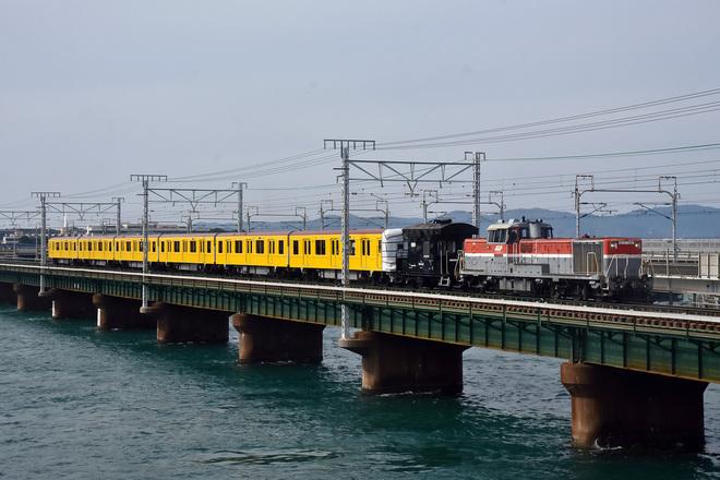 【メトロ】1000系1140F(特別仕様車)甲種輸送