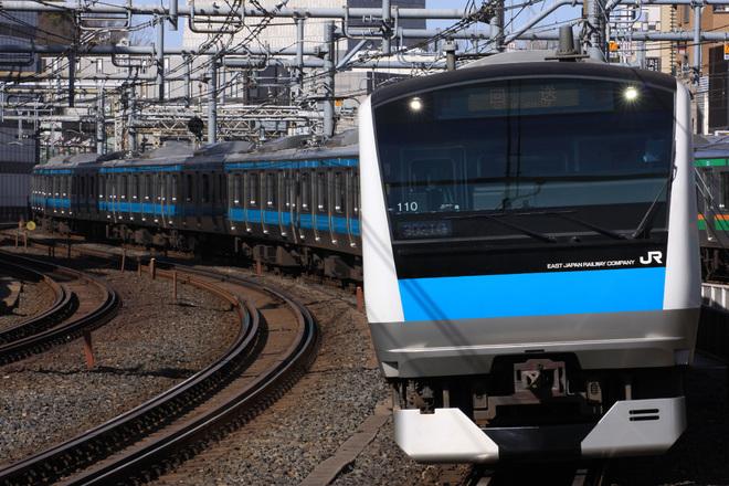 【JR東】E233系サイ110編成 東京総合車両センター入場