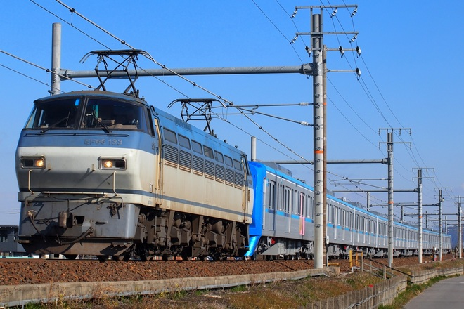 【メトロ】15000系 15116F 甲種輸送