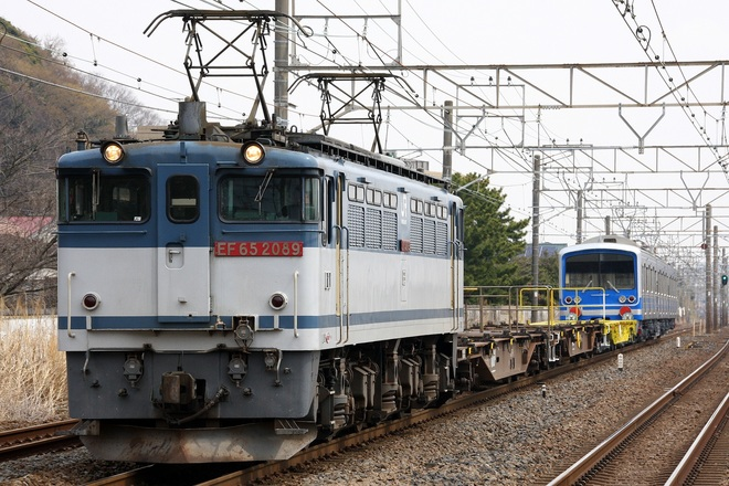 【伊豆箱】大雄山線5000系5507F 甲種輸送