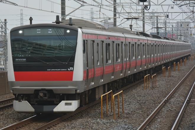 【JR東】E233系5000番台ケヨ518編成 東京総合車両センター入場