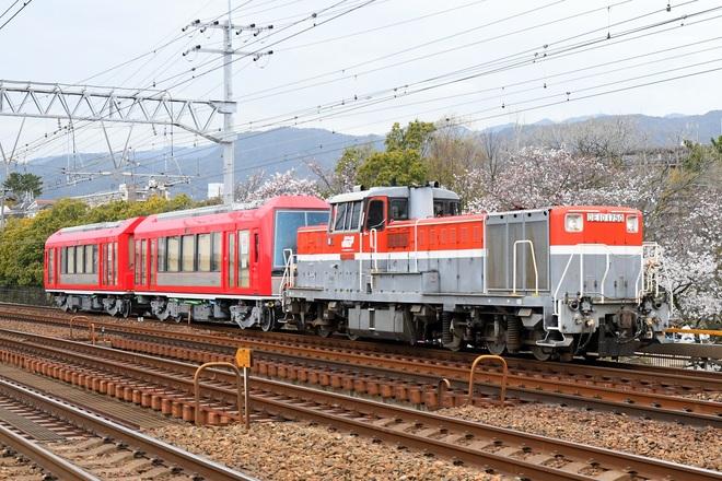 【箱根】3100形3101+3102号 甲種輸送