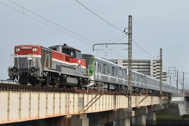 【メトロ】13000系13104F甲種輸送