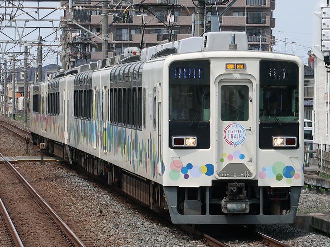 【東武】臨時特急「スカイツリートレイン号」運行終了