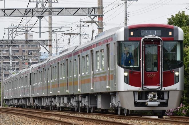 【西鉄】9000形増備車本線試運転