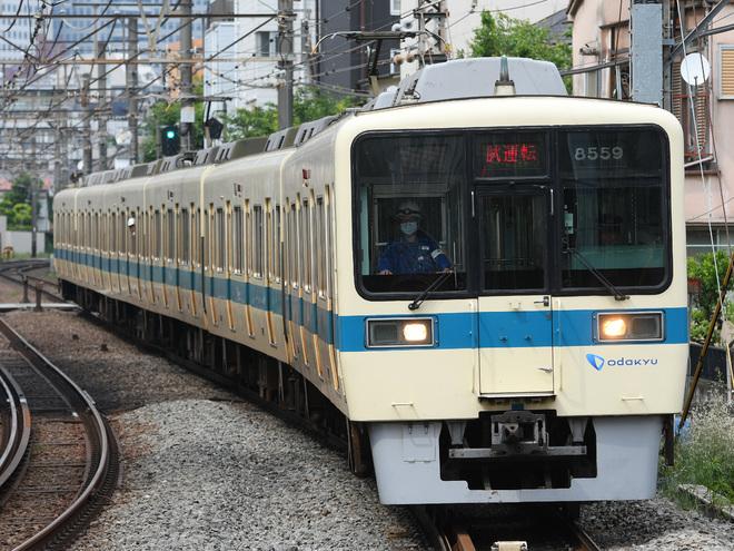 【小田急】8000形8259F 試運転