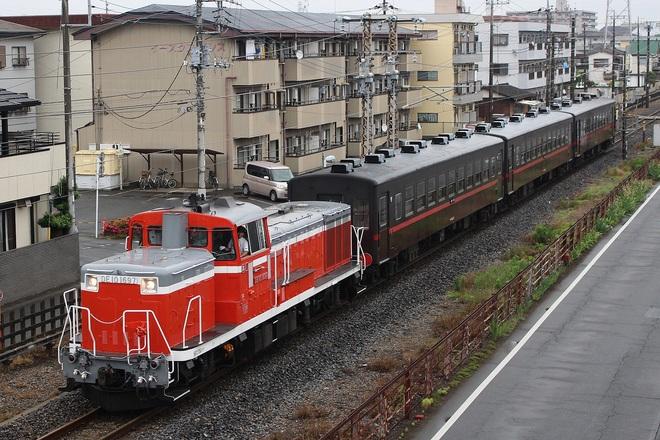 【JR東】DL&SLもおか客車回送