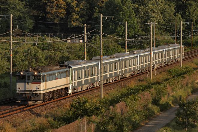【メトロ】13000系13106F甲種輸送