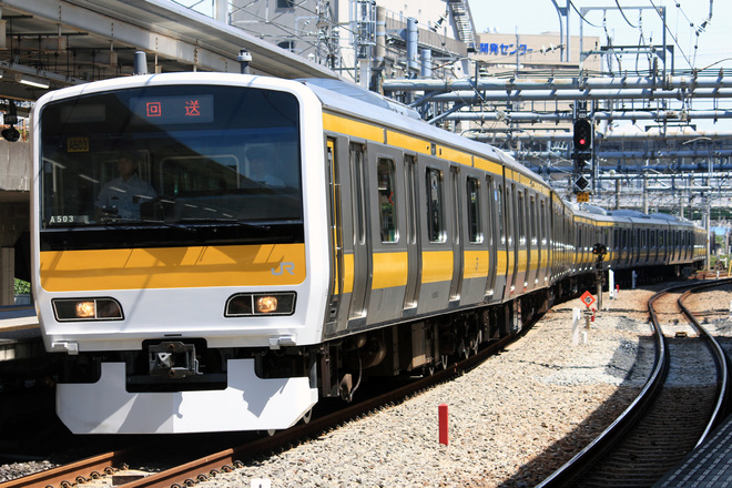 【JR東】E231系500番台ミツA503編成東京総合車両センター出場