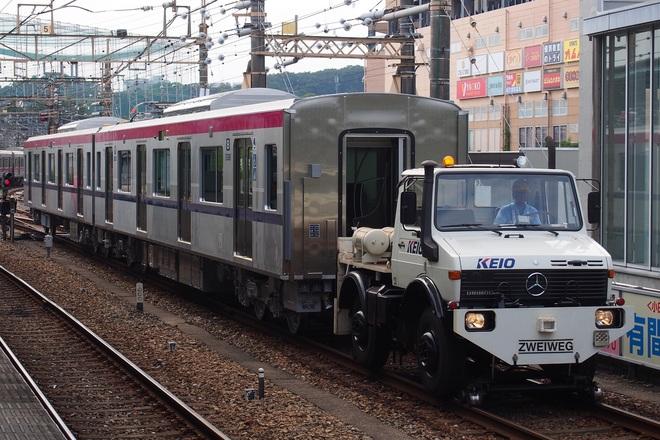 【京王】新5000系 若葉台検車区へ搬入
