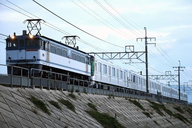 【メトロ】13000系(13109F)甲種輸送