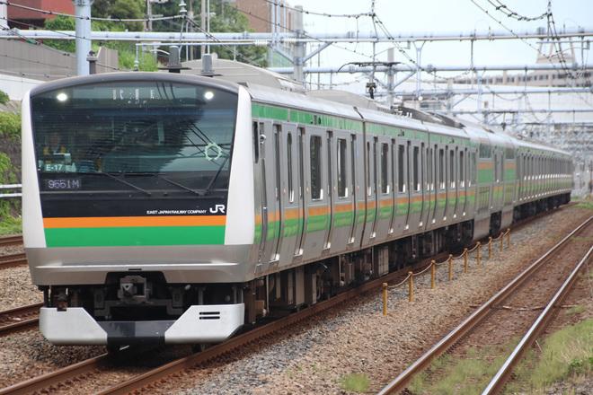 【JR東】E233系コツE-17編成 東海道線試運転