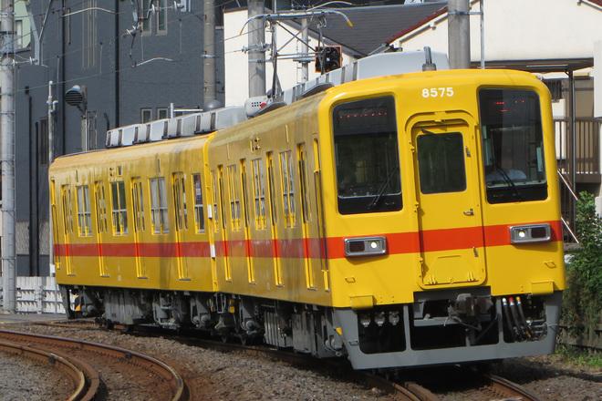【東武】8000系8575F 昭和30年代の試験塗装で営業運転開始