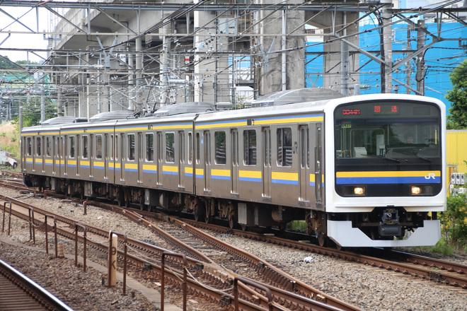【JR東】209系マリC437編成 大宮総合車両センター出場