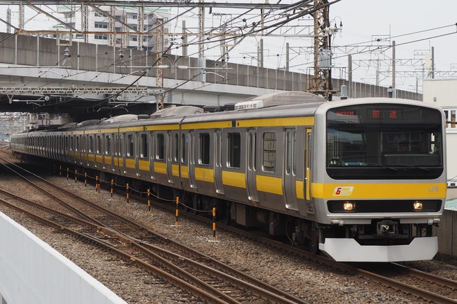 【JR東】E231系B6編成京葉車両センターへ疎開