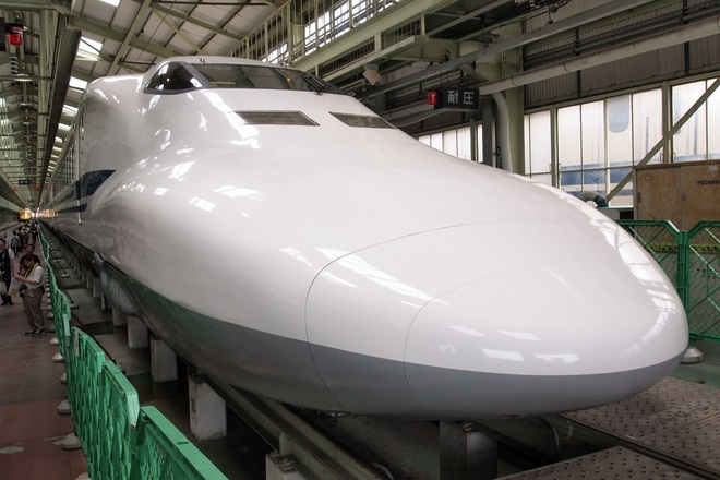 【JR海】浜松工場 新幹線なるほど発見デー開催