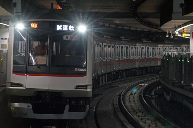 【東急】5050系5164F試運転