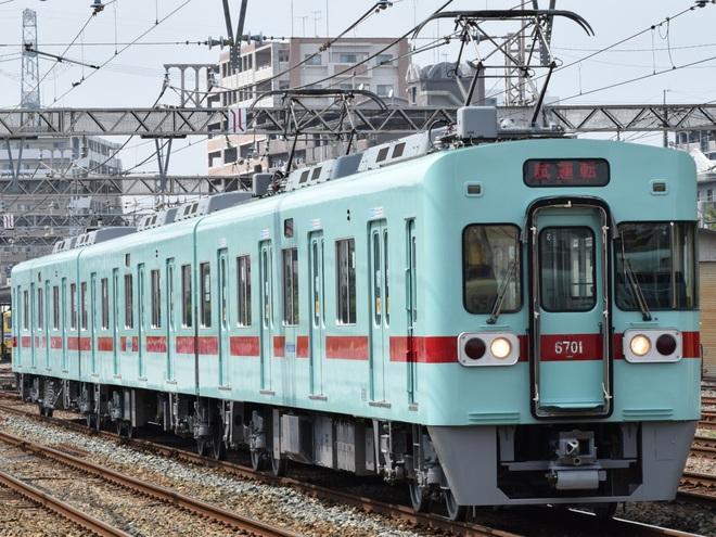 【西鉄】6000形6701F出場試運転