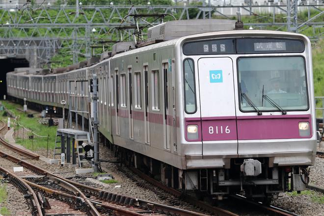 【メトロ】8000系8116F 試運転