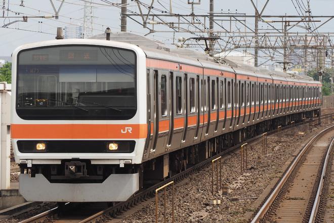 【JR東】209系500番台ケヨM71編成幕張区転削回送